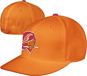 Tampa Bay Buccaneers Throwback Logo Hat Mitchell & Ness Fitted Cap Size 7 3 8 by Mitchell & Ness