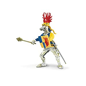 Safari Knight with Red Winged Helmet