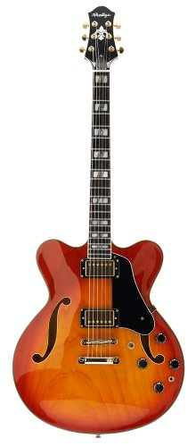Prestige Guitars 16023 Musician Pro Semi-Hollow Double Cutaway Electric Guitar