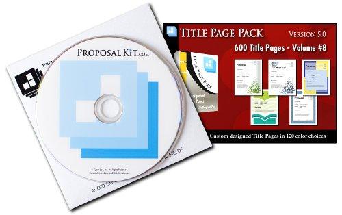 Title Page Pack Volume 8 V5.0 - 2014