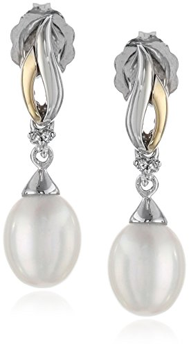 sterling-silver-and-14k-yellow-gold-freshwater-cultured-pearl-and-diamond-accent-linear-drop-earring