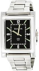 Sonata Analog Black Dial Mens Watch - NF7925SM02A