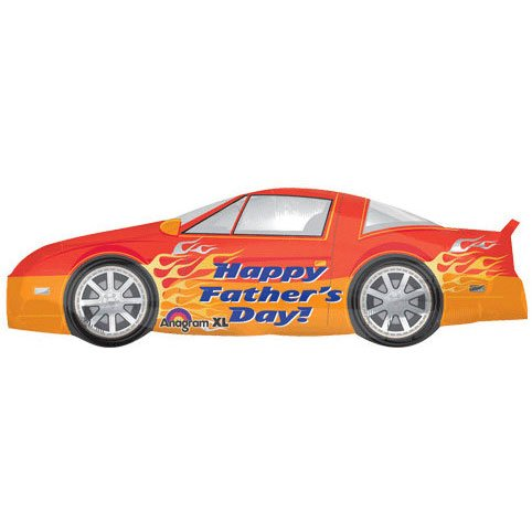 Happy Father's Day Car Super Shape Balloon - 1