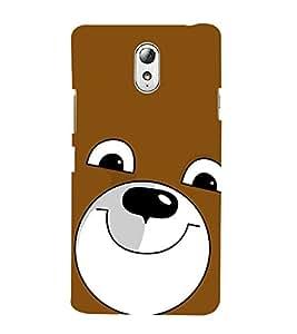 99Sublimation Cute Bear 3D Hard Polycarbonate Back Case Cover for Lenovo Vibe P1m