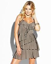 bebe Ruffle Cami Dress