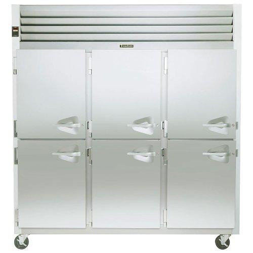 Traulsen G-Series G31003 115V Solid Door 3-Section Freezer - G31003