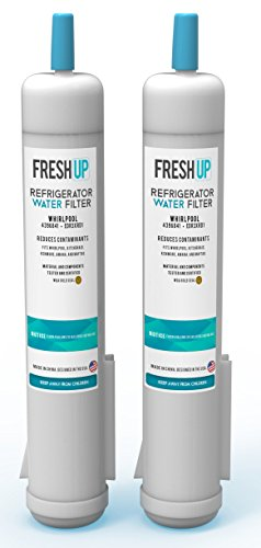 Whirlpool 4396841, 4396710, & EDR3RXD1 Replacement Water Filter (Pack of 2) by Fresh Up