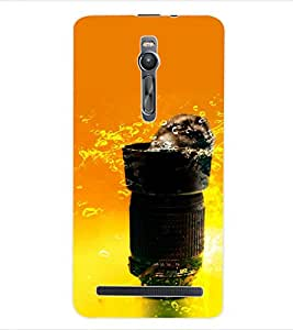 ColourCraft Funny Image Back Case Cover for ASUS ZENFONE 2 ZE551ML