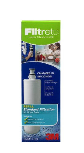 3M Filtrete 3US-AF01 Under-Sink Standard Replacement Water Filter