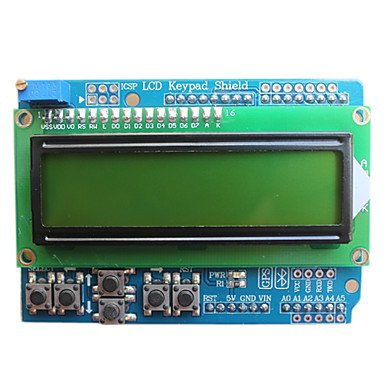 Zcl Jy-Mcu Lcd Keypad Expansion Board Arduino, With Bluetooth Interface, Blue Screens, Video Presentations