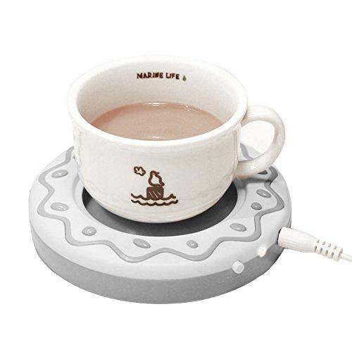 Desktop USB Heated Coffee / Tea Mug Warmer, Candle & Wax Warmer (Coffee Plate Warmer compare prices)