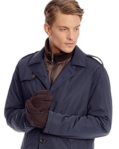 CORTEFIEL Abrigo Azul Marino