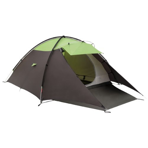 Coleman Tauri Connect X4 4 Person Tent - Green/Brown