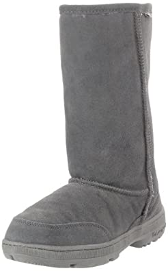BEARPAW Women's Meadow 605W Boot,Charcoal,5 M US