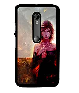 Fuson 2D Printed Girly Designer back case cover for Motorola Moto G3 - D4622