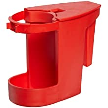 "Impact 103 Super Toilet Bowl Caddy, 8"" Length x 4"" Width x 6"" Height, Red (Case of 12)"