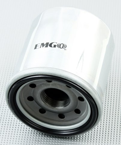 Emgo 10-82220 Chrome Finish Oil Filter (Boss Hydraulic Oil compare prices)