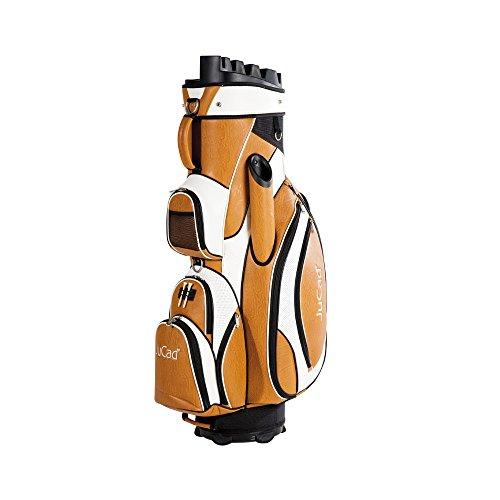 JuCad Golf Cart Bag Manager Farbe: braun-weiß