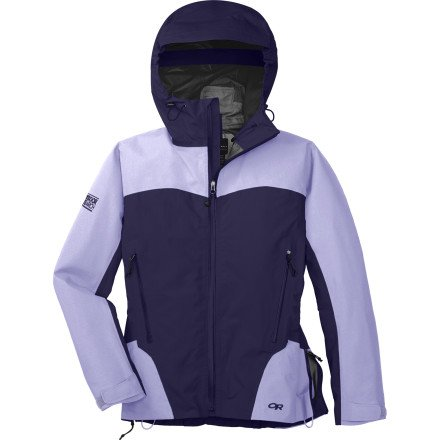 Outdoor Research Women's Enigma Jacket (Blackberry/Lilac, Small)
