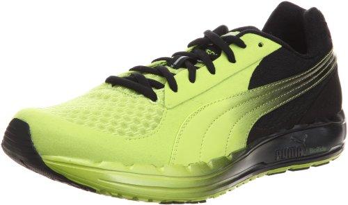 Puma Faas 500 NM Fade 185964, Herren Sportschuhe - Running, Gelb (lime punch-black 01), EU 44.5 (UK 10) (US 11)