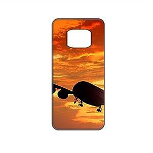 Vibhar printed case back cover for Samsung Galaxy Alpha SunsetFlight