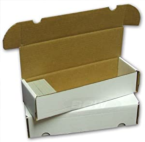 660 Count Card Storage Box x 10 pack