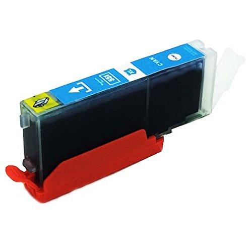 1 x kompatibel Tintenpatronen CLI-551 Cyan mit Chip für Canon Pixma: IP7250 IP8750 IX6850 MG5450 MG5550 MG6350 MG6450 MG7150 MX725 MX925 iX6850 iP8750