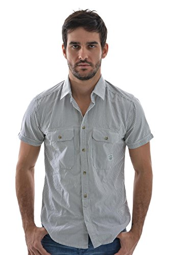 Camicia a maniche corte, con Jack And Jones mind Maglietta, colore: grigio grigio Small