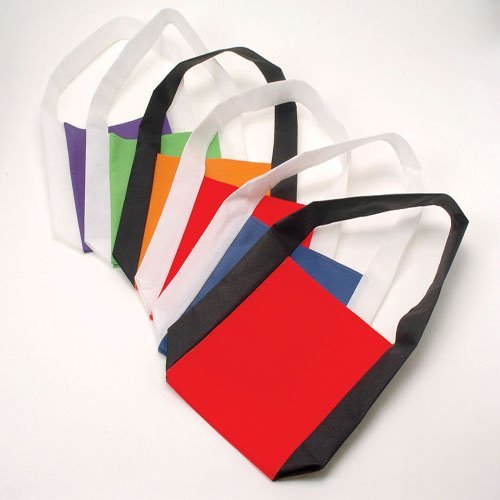 Red and White Book Bags