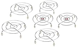 Embassy Stainless Steel Round Trivet (Pack Of 6)