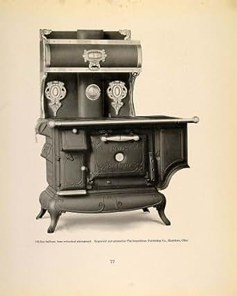 Antique Kitchen Stove Car Interior Design