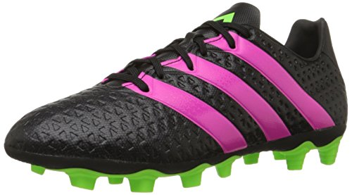 adidas Performance Men's Ace 16.4 FG/AG Soccer Shoe,Black/Shock Pink/Shock Green,7 M US (Oasis Shoes Men compare prices)