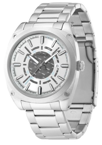Swatch Police Analog Grey Dial Men's Watch - PL12698JS\/04M