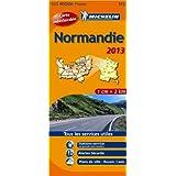 Carte REGION Normandie 2013 n°513