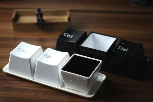 Keyboard Mug Cup 3 Pack (Black Optional)