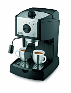 De'Longhi EC155 15 BAR Pump Espresso and Cappuccino Maker by Delonghi