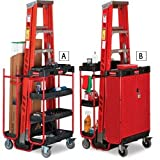 RUBBERMAID Ladder Carts