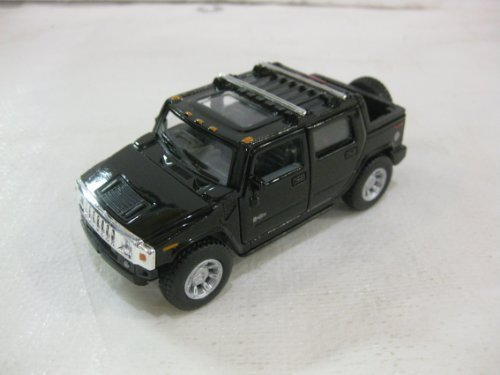 2005 Hummer H2 SUT In Black Diecast 1:40 Scale By Kinsmart (Hummer Scale compare prices)
