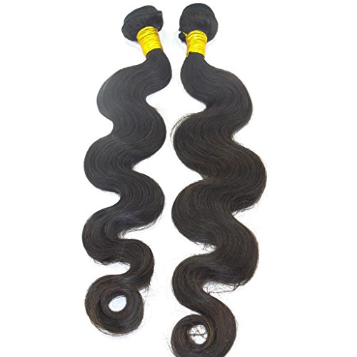 LaNova-Beauty-Girls-Best-Human-Hair-WeftsMix-Size2pcs-10-28inchBody-WaveNatural-Color2pcslot100gpc