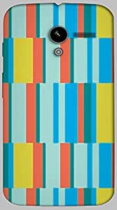 Timpax protective Armor Hard Bumper Back Case Cover. Multicolor printed on 3 Dimensional case with latest & finest graphic design art. Compatible with only Motorola Moto - X-1- 1st Gen. Design No :TDZ-21432