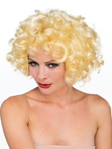 Rubie's Costume Blond Dolly Wig, Yellow, One Size