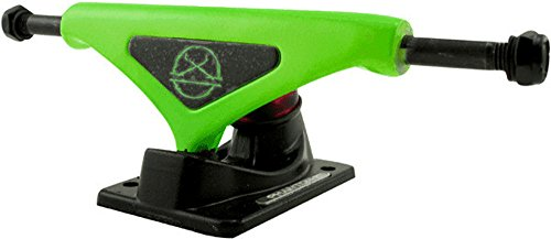Phantom 2 Skateboard Trucks (Fluorescent Green, 7.75 (Phantom Skateboard Trucks compare prices)