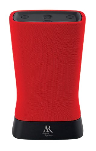 Acoustic Research Ars60Rd Bluetooth Wireless Speaker - Red