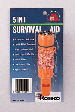 Rothco Deluxe Survivo 5-in-1 Survival Aid Tool by Rothco