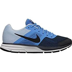 Nike Women's Air Pegasus+ 30 Dstnc Bl/Blk/Anthrct/Chmbry Bl Running Shoe 9 Women US