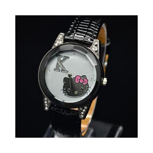 USA Seller 2 3 Days From Date of Order to Your Door No Need to Wait 3 6 Weeks Miss Peggy Jos   Hello Kittys Kt52a Quartz Movement Watch**