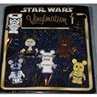 Disney Vinylmation Star Wars Pin Set of 7 with Chaser