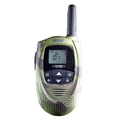 CPS CP101 Walkie Talkie FRS (Owner of US Design Patent,Will Take Legal Action To Stop Infringing Product T228) (Camouflage)(1 Piece)