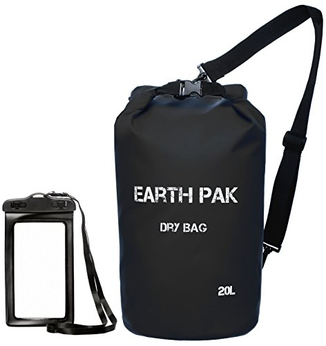 earth-pak-waterproof-dry-bag-roll-top-dry-compression-sack-keeps-gear-dry-for-kayaking-beach-rafting