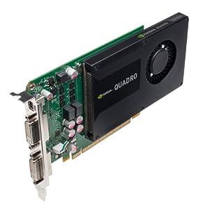 NVIDIA Quadro K2000D 2GB GDDR5 Graphics card (PNY Part #: VCQK2000D-PB